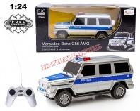 Mercedes G55 Policja PL 1:24 (R/C)