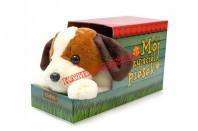 Pies ciapek B/O brązowy