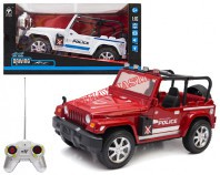 Jeep policyjny R/C