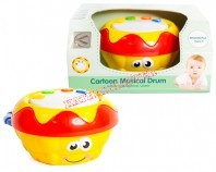 Cartoon Musical Drum B/O