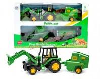 Traktor + przyczepy