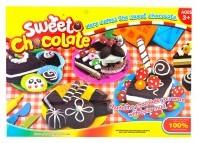 Masa plastyczna słodkie czekoladki