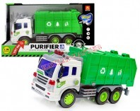 Ciężarówka śmieciarka B/O 26 cm