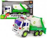 Ciężarówka śmieciarka B/O 27 cm