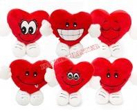 Pluszowe serce mix