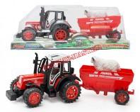 Traktor z przyczepą I