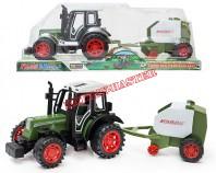 Traktor z przyczepą II