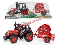 Traktor z przyczepą III