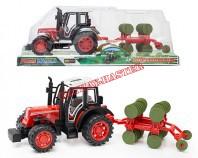 Traktor z przyczepą IV