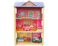 Domek drewniany dla lalek