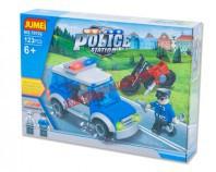 Klocki POLICJA 123 elem.