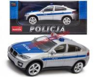 Policja BMW X6 (1:43)