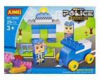 Klocki POLICJA 25 elem.