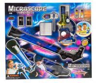 Zestaw - luneta z mikroskopem