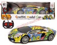 Samochód graffiti  R/C 24 cm