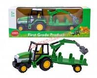 Traktor z przyczepą 1