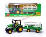 Traktor z przyczepą 4